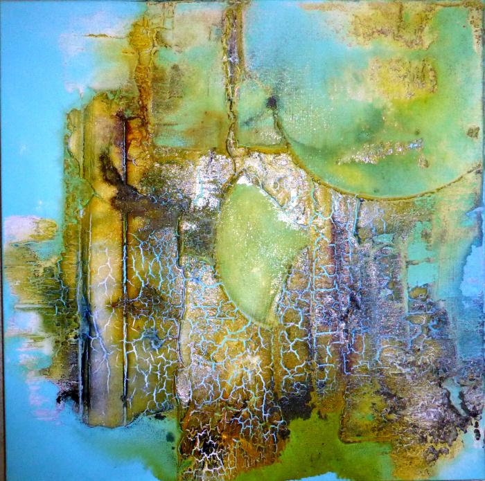 Real art abstrakte malkurse - Acrylmalerei ideen ...