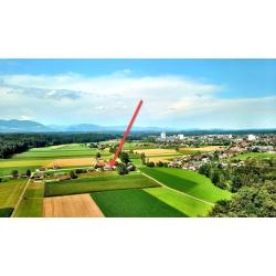 Lage Solothurnstrasse 23 zwischen Aeschi und Herzogenbuchsee. Haus hat 470 Qubik  bewohnter Raum.